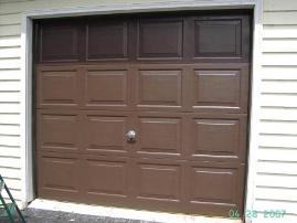Garage Door restored with Everbrite