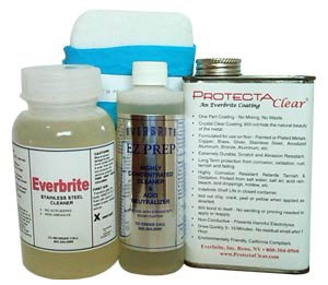 Order ProtectaClear with Stainless steel cleanaers