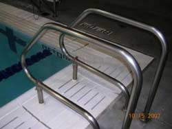 Protect stainless steel around salt or chlorine pools