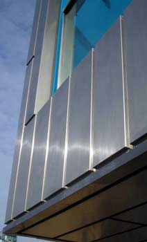 Stainless Steel buildings can be restored and maintained indefinitely