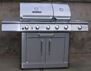 Protect stainless steel barbecues or grills